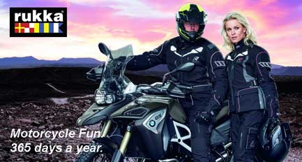 Rukka motorcycle clothes for winter
