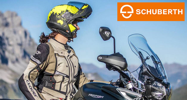 Schuberth motorcycle helmets buy online