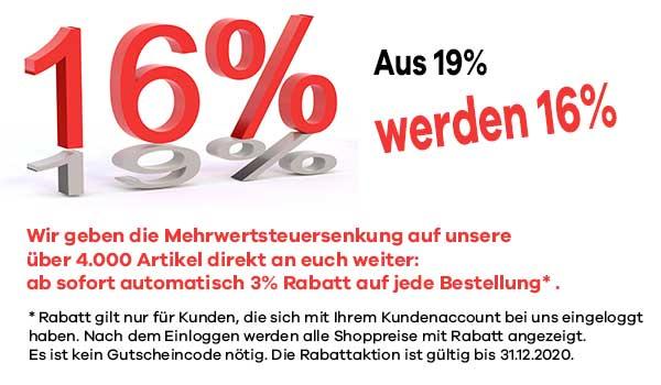 Jetzt Rabattaktion mit 3%