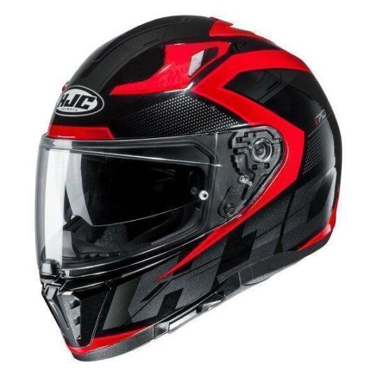 Motorradhelm HJC i70 CRAVIA MC10SF XS Grau//Weiss