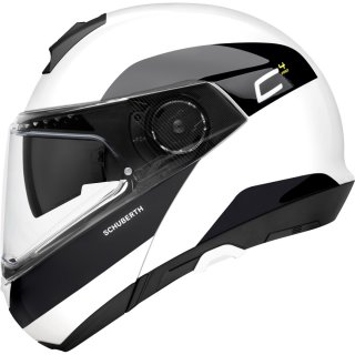 Schuberth C4 Pro Klapphelm Fragment White