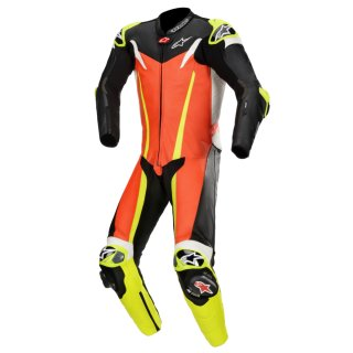 Alpinestars GP Tech V3 1tlg. Lederkombi Tech Air rot-fluo...