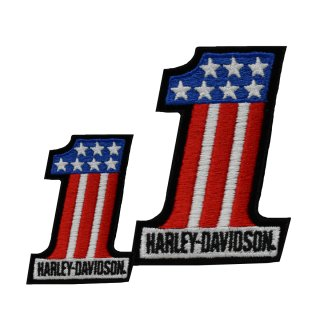 HD Patch #1 Red / White / Blue XS
