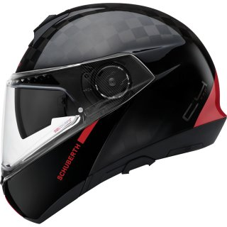 Schuberth C4 Pro Carbon Klapphelm Fusion Red