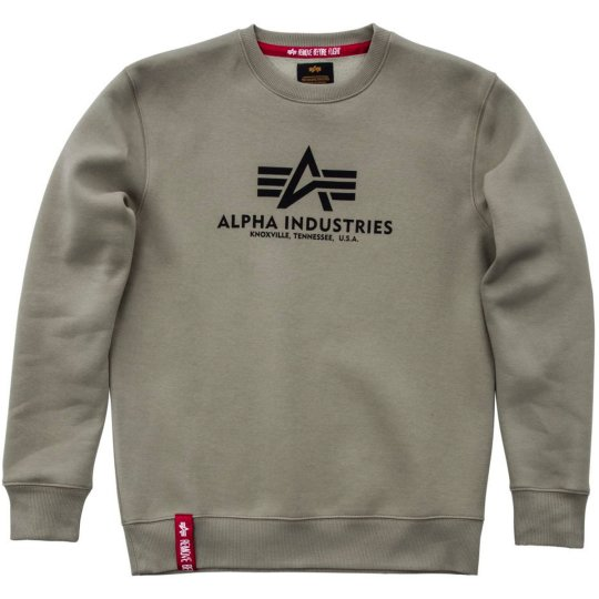 Alpha Industries Basic Sweater olive 2XL