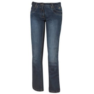 Held Crackerjane Motorradjeans Damen blau
