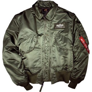 Alpha Industries Bomber Jacke CWU 45 sage green